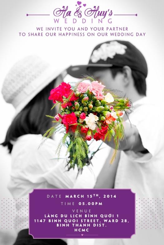 Huy and Ha Wedding