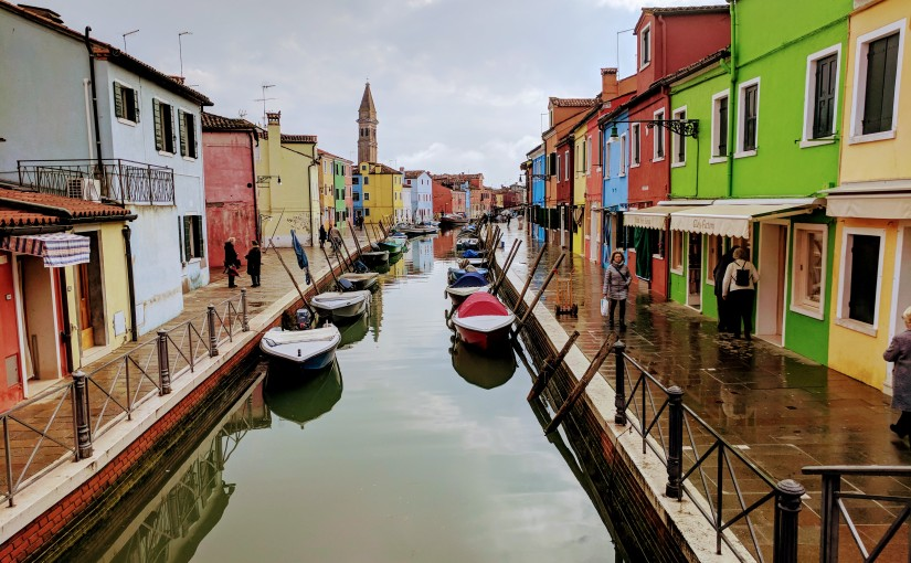 Casino Royale Dreams in Venice, Burano, and Murano (Italy)