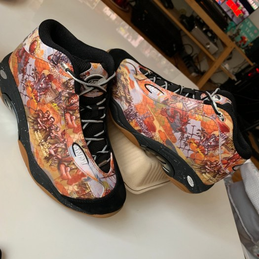 And1 Tai Chi Mixtape Shoes – In the Wild! – I Spit Hot Fire
